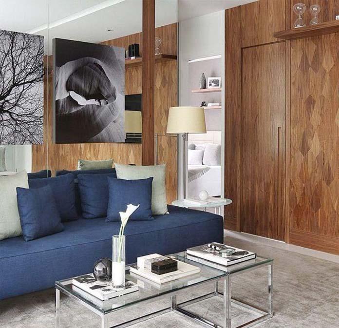 Sofá azul - Como combinar com a decoração? Dicas e ...