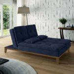 Sofá-cama azul