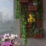 jardim vertical em varandas pequenas