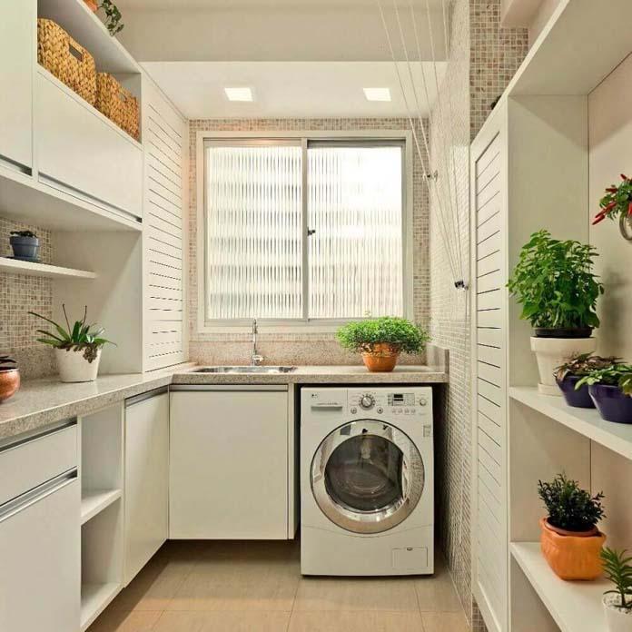 Armário para lavanderia