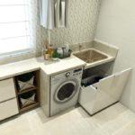 Armário planejado para lavanderia