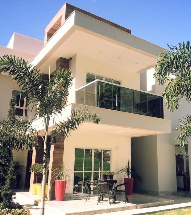 Casas Com Varanda 60 Modelos Projetos E Fotos: Modelos, Projetos E Plantas Para Se