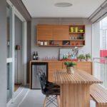 Casas com varanda gourmet