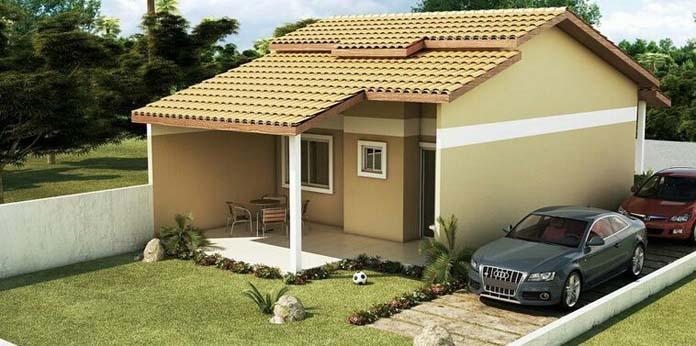 Casas com varandas modelos projetos e plantas para se for Modelos de frentes de casas modernas