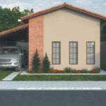 Casas com varanda na lateral