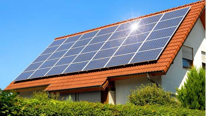 Painéis de aquecimento solar