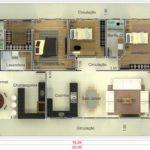 projetos e plantas de casas com varandas