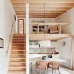 Casas com mezaninos simples