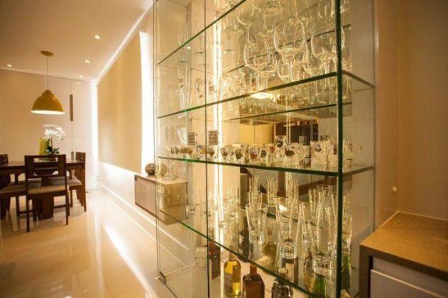 Cristaleira de vidro