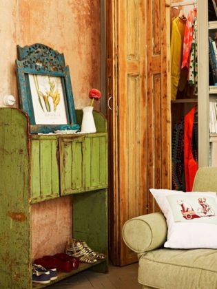 Móveis de decoração vintage