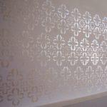 Stencil para parede de quarto