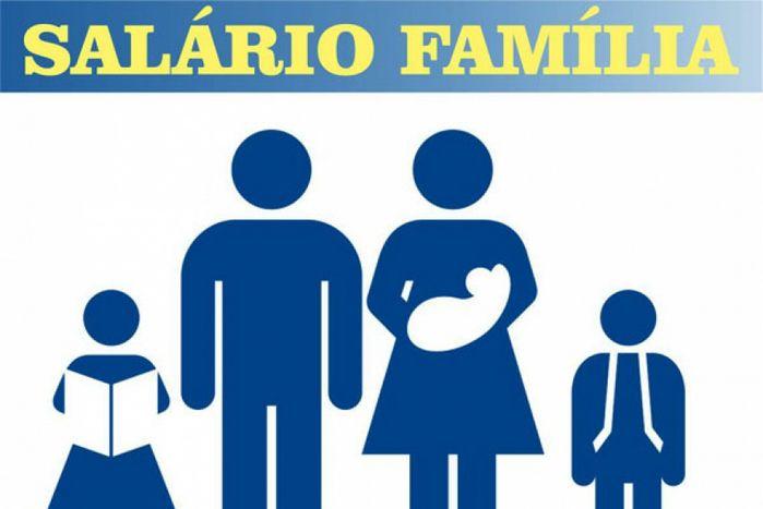 salario família 2019