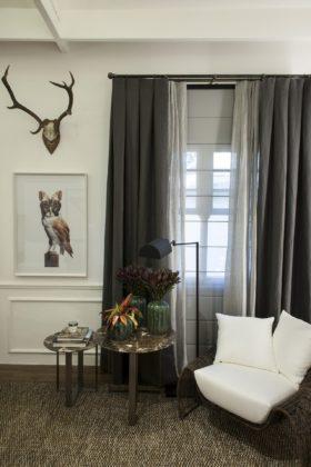 cortinas para sala de tv