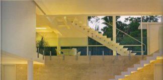 decoração de sala com escada