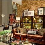 decoração inglesa couro