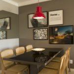quadros em sala de jantar