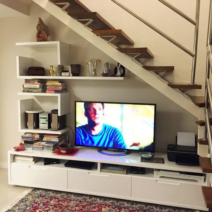 Dormir No Jardim O Que Tem Debaixo Da Sua Escada: Dicas De Decoração De Sala Com Escada