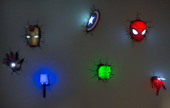 luminária nerd