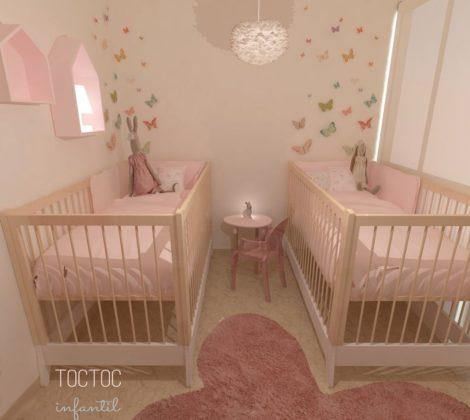 quarto de gêmeos pequeno