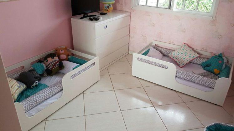 quarto montessoriano para gêmeos