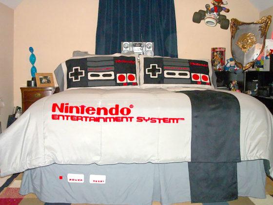 roupa de cama nerd