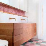 decoracao rosa em banheiro