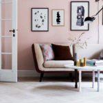 sala com decoracao rosa