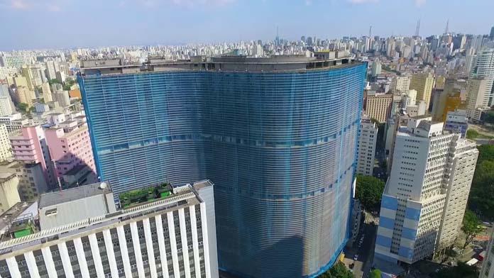 Copan umas das arquiteturas curvilíneas mais incriveis
