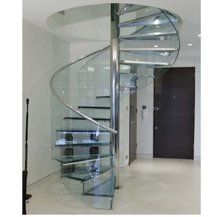 Escada em forma de caracol