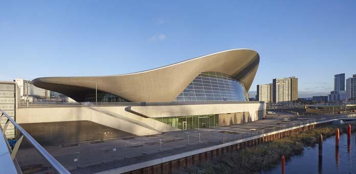 arquiteturas curvilíneas pelo mundo: Zaha Hadid