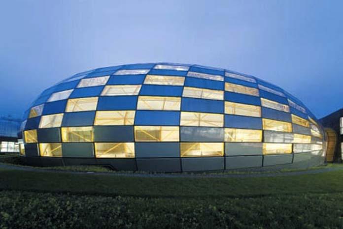A famosa biblioteca universal de Berlim na Alemanha