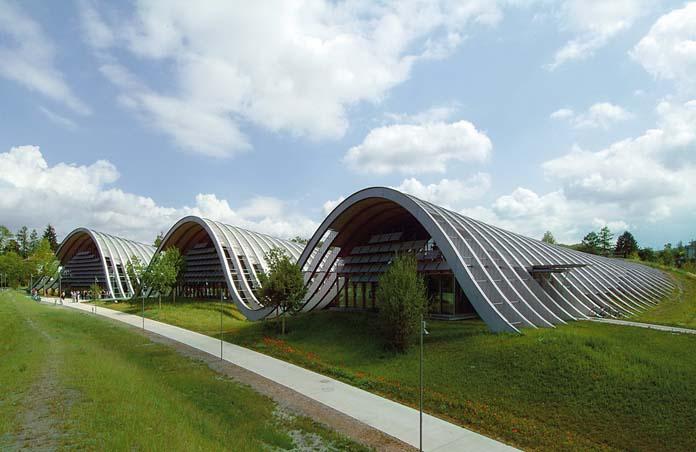 centro paul klee umas das mais lindas arquiteturas curvilíneas