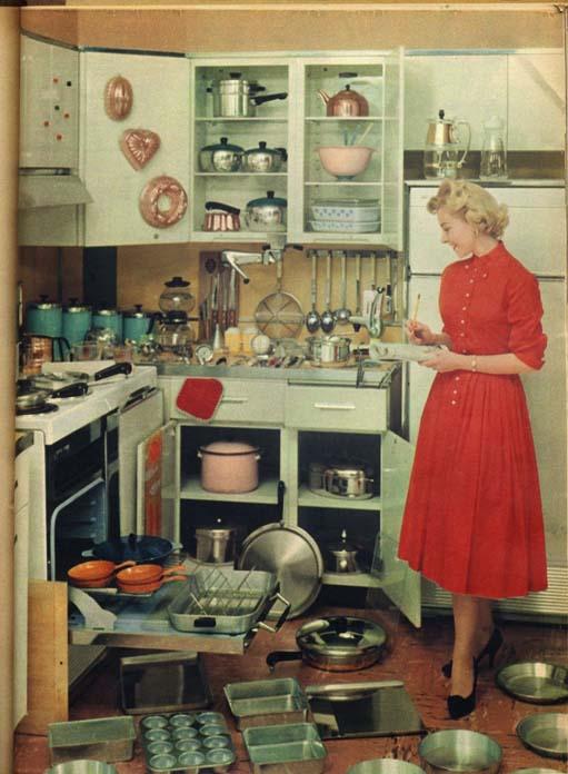 Decoração de cozinha anos 50