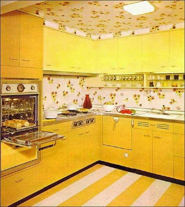 Decoração de cozinha anos 80
