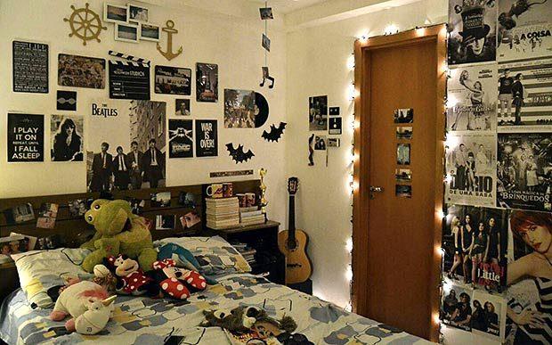Decoração de quarto nos anos 80