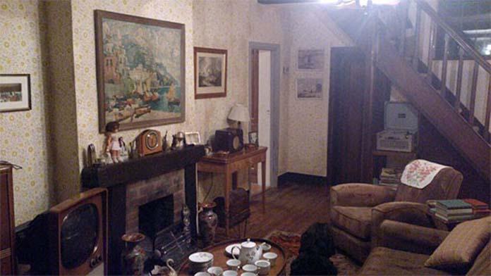 Decoração de sala anos 50