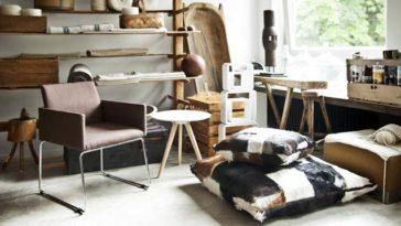 Decoração Rústica para sala de estar