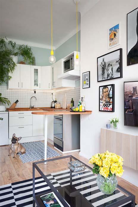 Decoração das paredes da cozinha