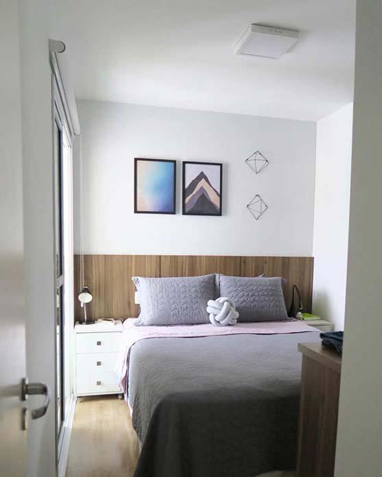 Quadros em decoração de quarto unissex