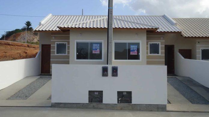 Imagem para exemplificar como é uma casa germinada