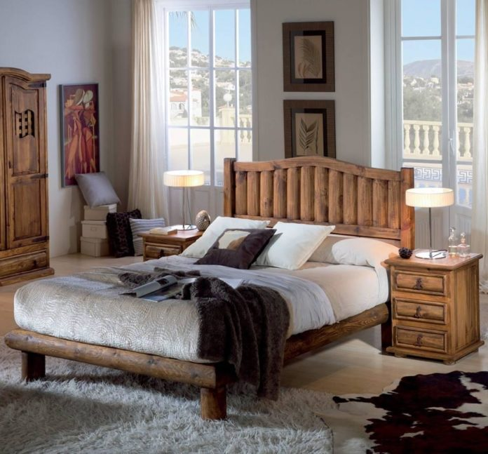 Decoração Rústica para um quarto