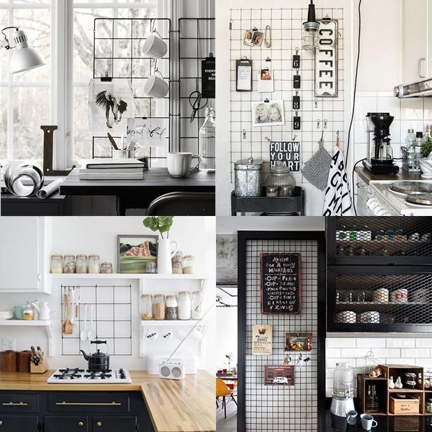Decoração para área da cozinha