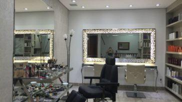 Salão de beleza pequeno