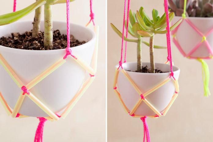 Porta vasos para decoração
