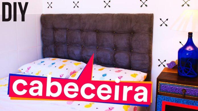 DIY cabeceira de camas