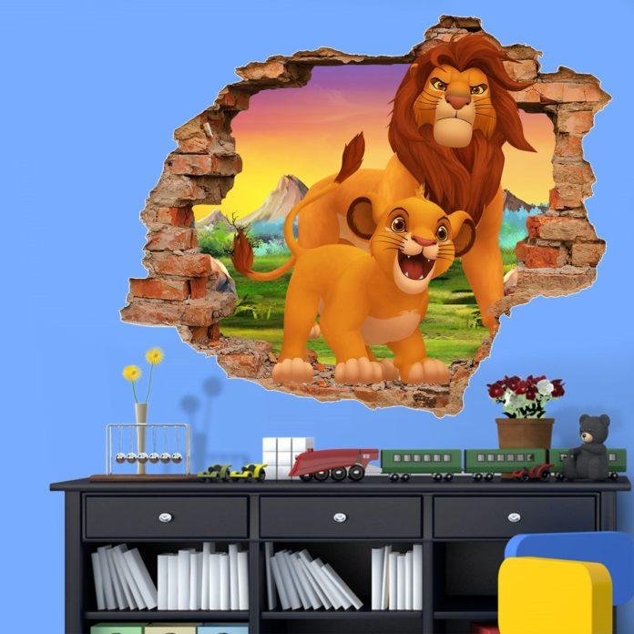 Adesivos do rei leão