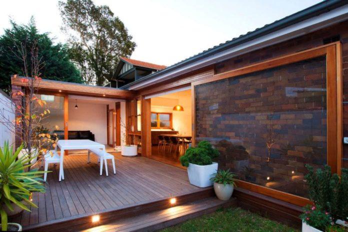 Deck para varanda de casa