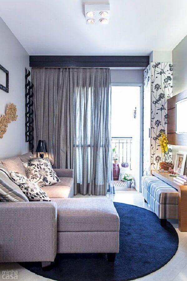 sofá para uma sala pequena