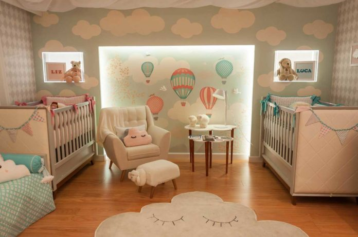Iluminação decorativa para o quarto