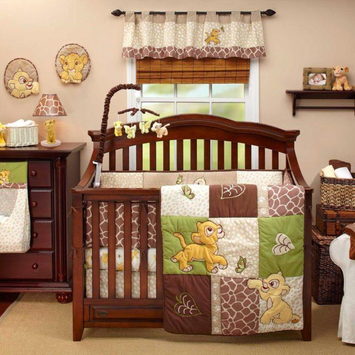 mobilai para berço e decoração para o quarto